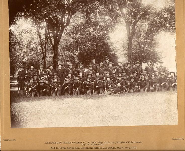 Lynchburg Home Guard, 1903 (07233)