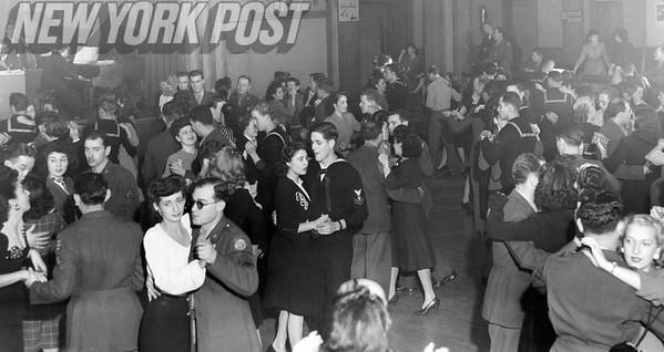 U.S. Jewish Welfare Board Come Together And Dance. 1944