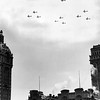 Cargo Planes Which Winged Over the City at Noon as Part of the Air Force Day Observance of 40th Anniversary U. S. Military Aviation. 1947
