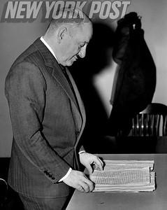 Admiral Louis De Florez. February 05, 1947.