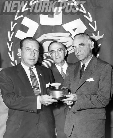 Gen. Lucius D. Clay. August 29, 1955.