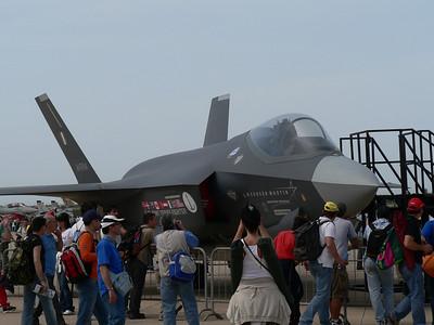 Simulacro dell'F35