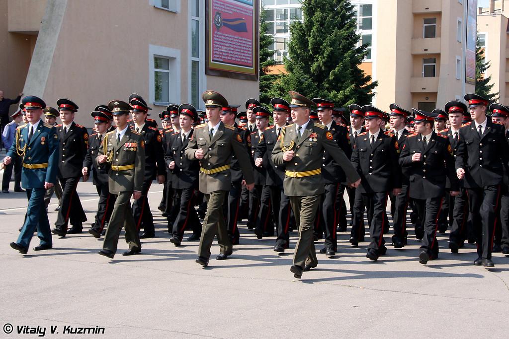 Выпуск Московского суворовского военного училища (Graduation ceremony at Moscow Suvorov Military School)