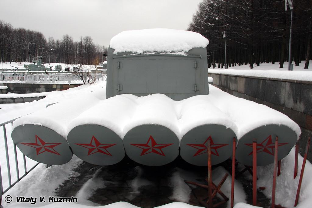 Торпедный аппарат (Torpedo tube mount)