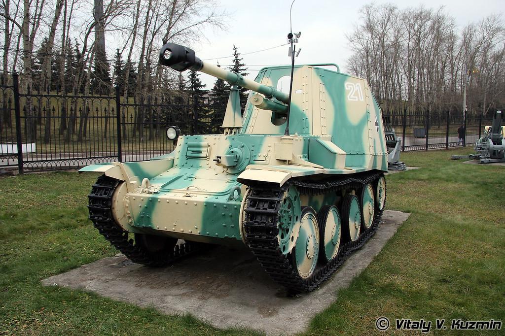 "75-мм самоходное противотанковое орудие ""Мардер"" (75mm Marder self-propelled anti-tank gun)"