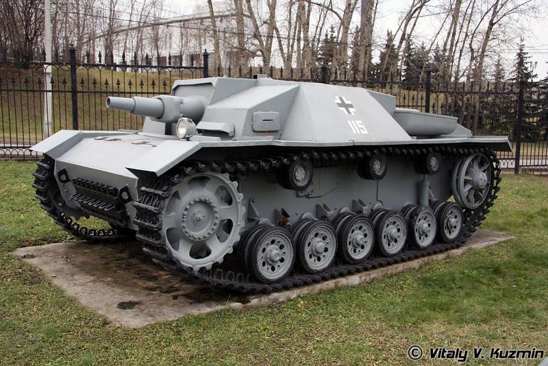 Штурмовое орудие StuG-III (assault gun)