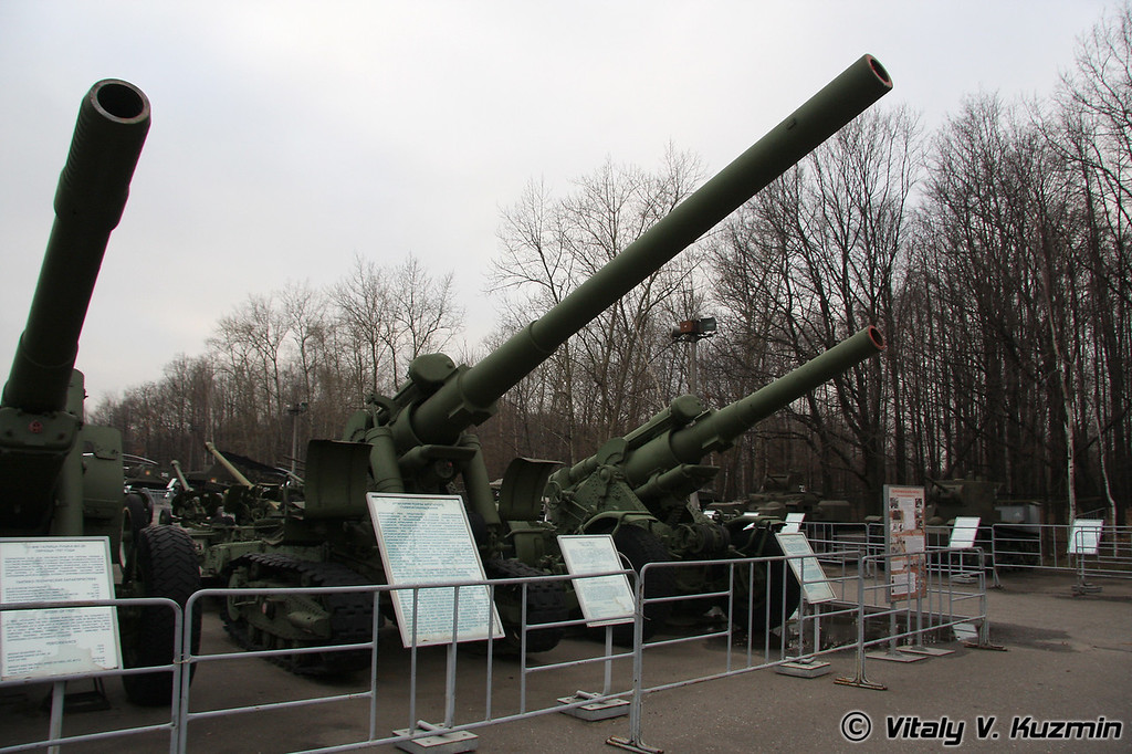 152мм орудие БР-2 (152mm BR-2 gun 1935 model)