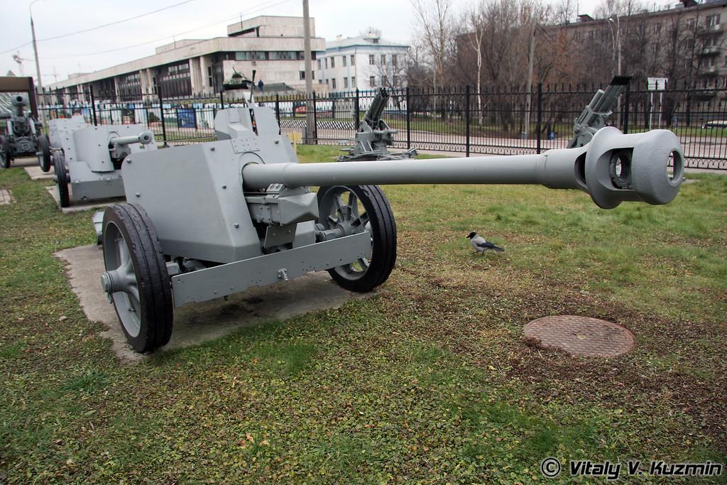 75мм ПАК-40 противотанковое орудие (75mm PAK-40 anti-tank gun 1940 model)