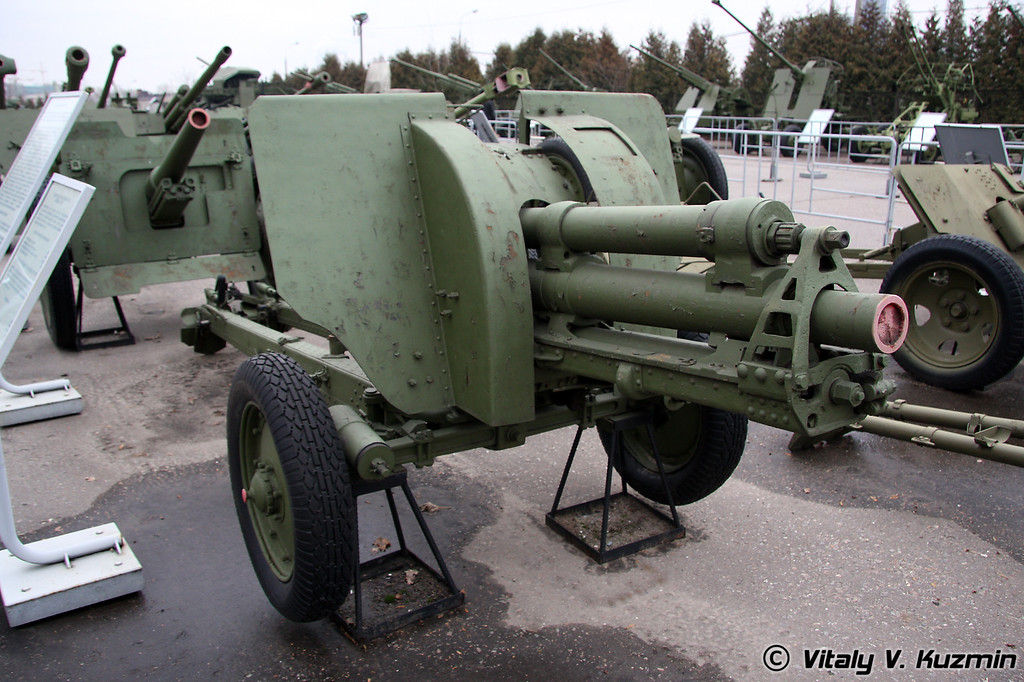 76мм полковая пушка Ф-24 (76mm F-24 regiment gun 1939 model)