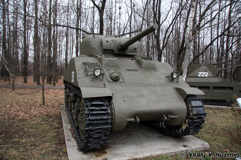 Средний танк М4А2 Шерман (M4A2 Sherman medium tank)