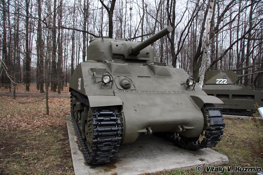 Средний танк М4А2 Шерман (M4A2 Sherman medium tank)