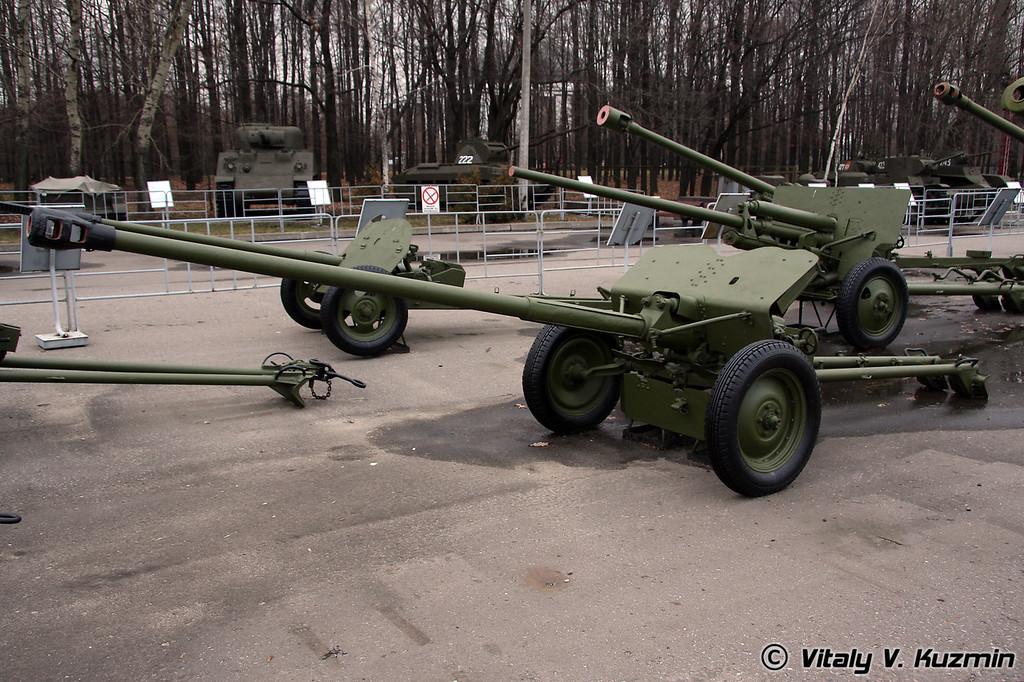 57мм противотанковая пушка ЛБ-3 (57mm LB-3 antitank gun)