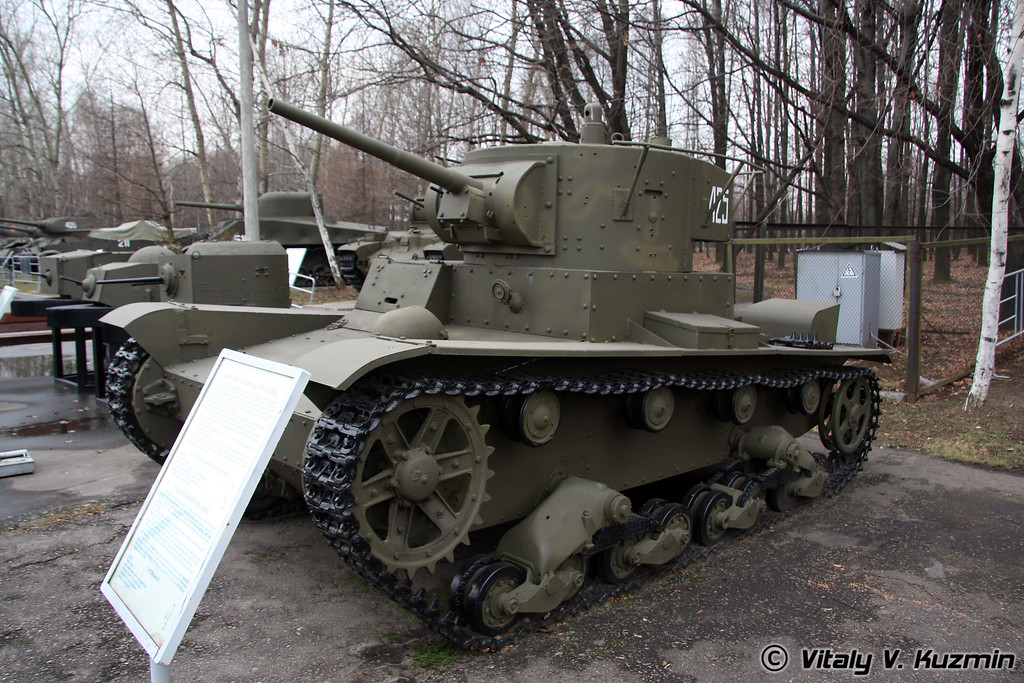 Легкий танк Т-26 модель 1933г. (T-26 light tank 1933 model)