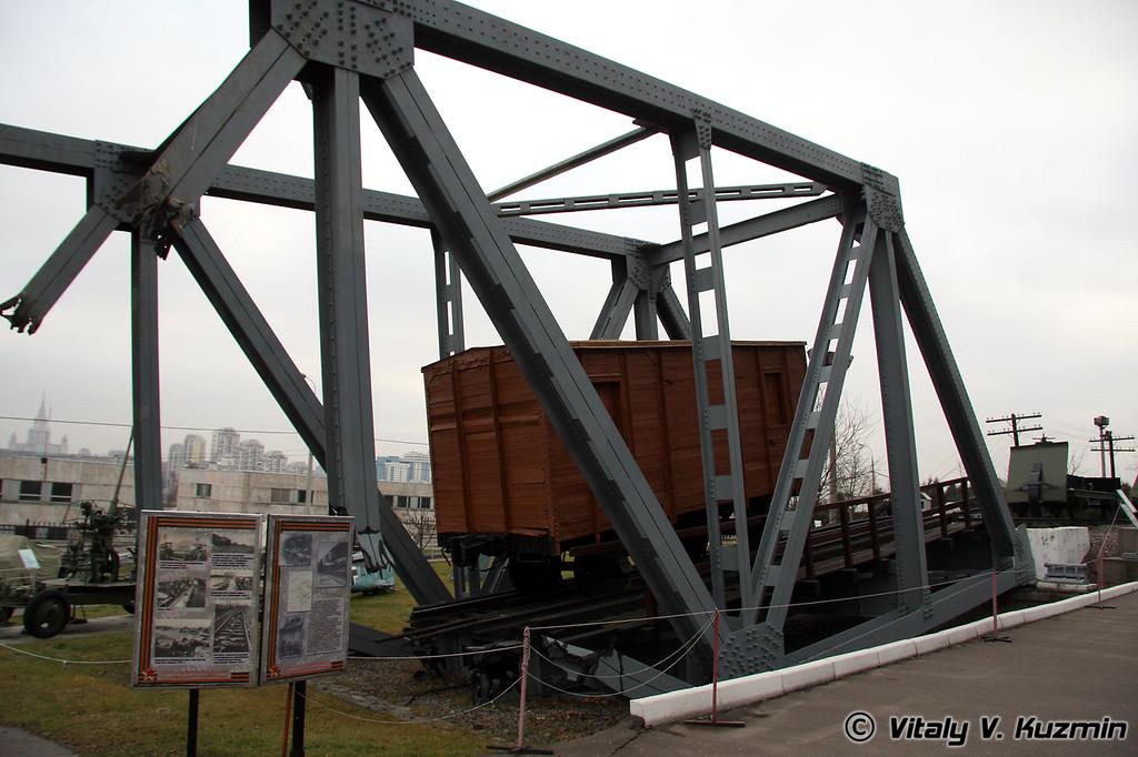 Инсталляция с вагоном (Railroad wagon)