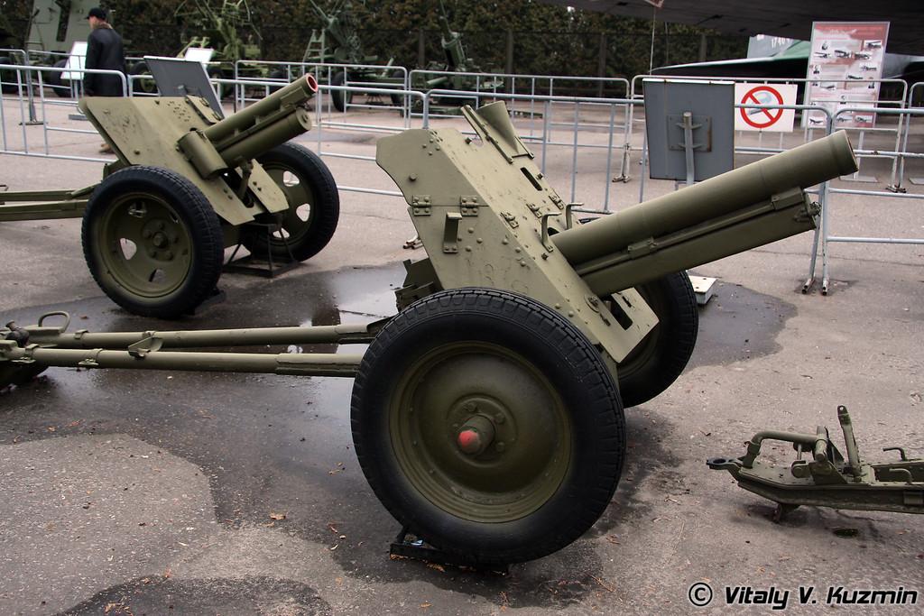 76мм горная пушка 35-К (76mm 35-K mountain gun 1936 model)