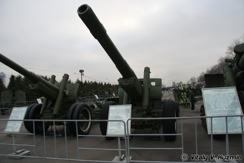 152мм гаубица МЛ-20 (152mm ML-20 howitzer-gun 1937 model)