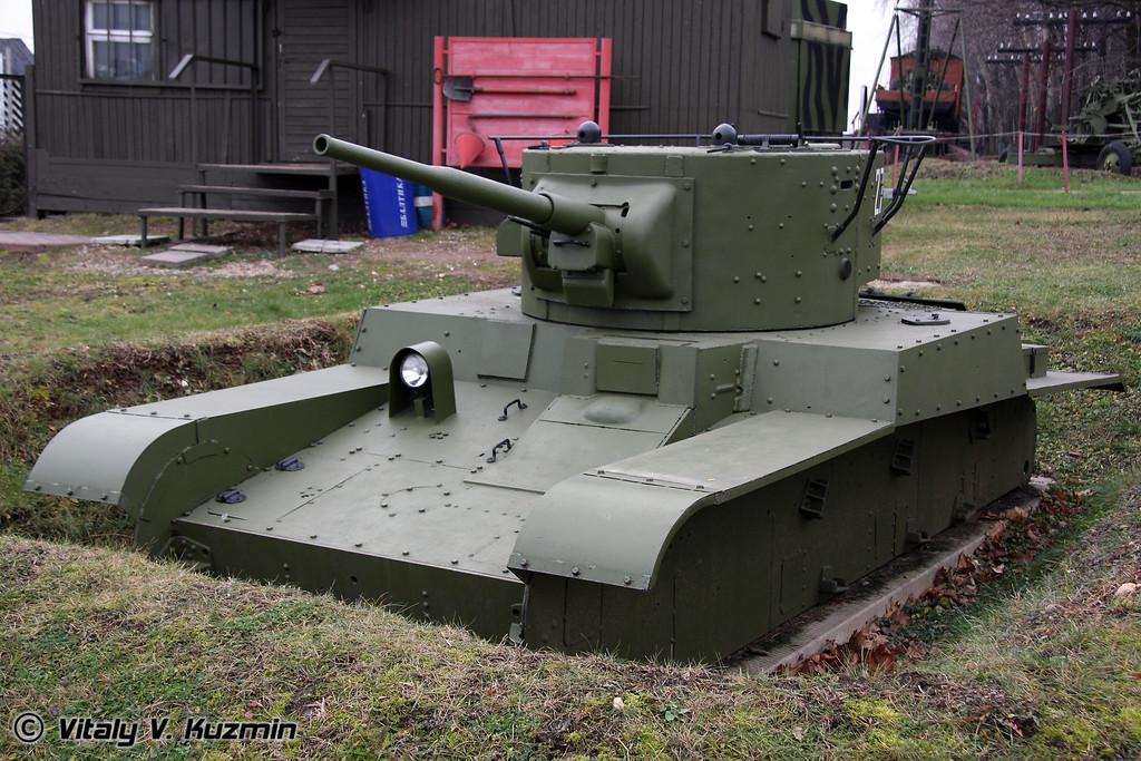 Т-46-1 колёсно-гусеничный огнеметный танк (T-46-1 wheel-track fire-throwing tank)