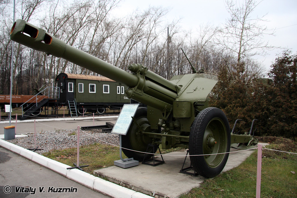 152мм гаубица Д-1 (152mm D-1 howitzer 1943 model)