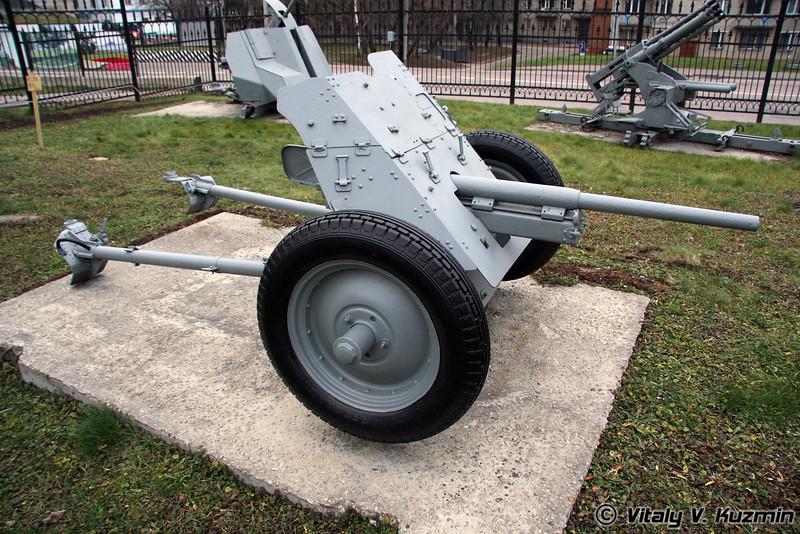 37мм ПАК-35-36 пушка (37mm PAK-35-36 Anti-tank gun)
