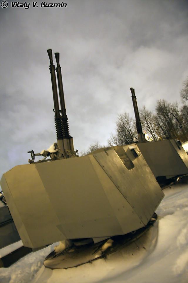 37-мм автоматическая спаренная артиллерийская установка В-11 (37-mm V-11 sea twin auto artillery mount)