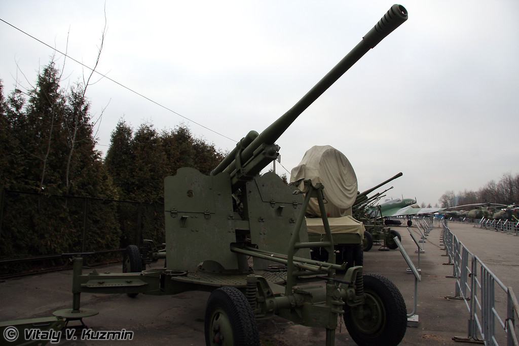 85мм 52-К зенитное орудие (85mm 52-K AA gun 1939 model)