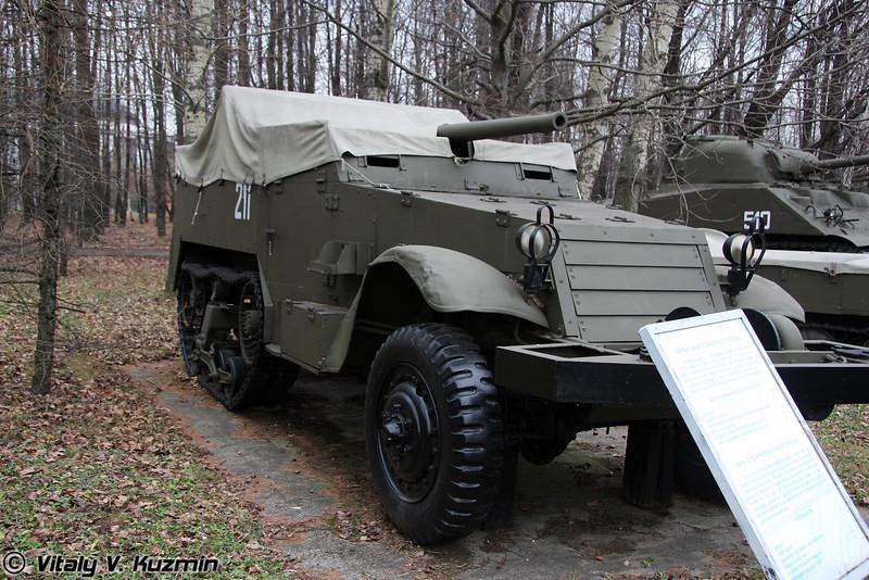 Самоходная установка СУ-57 (SU-57 self-propelled mount)