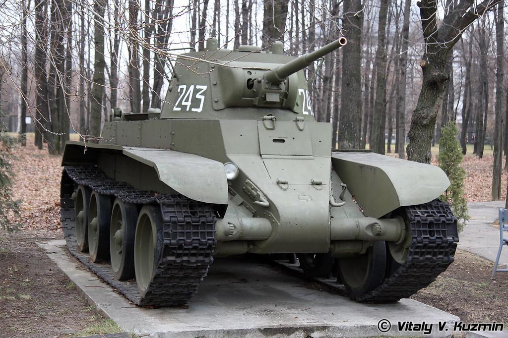 БТ-7 (BT-7 tank)