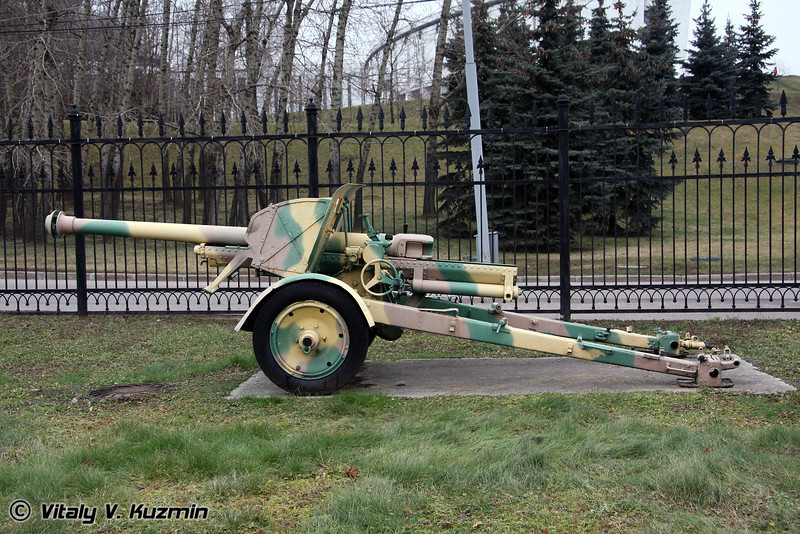 75мм Тип 90 орудие (75mm Type 90 field gun 1930 model)
