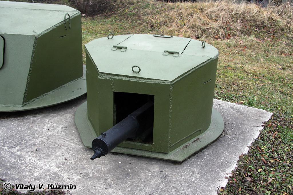 Бронированное сооружение для пулемета (Machine-gun armored construction Finland)