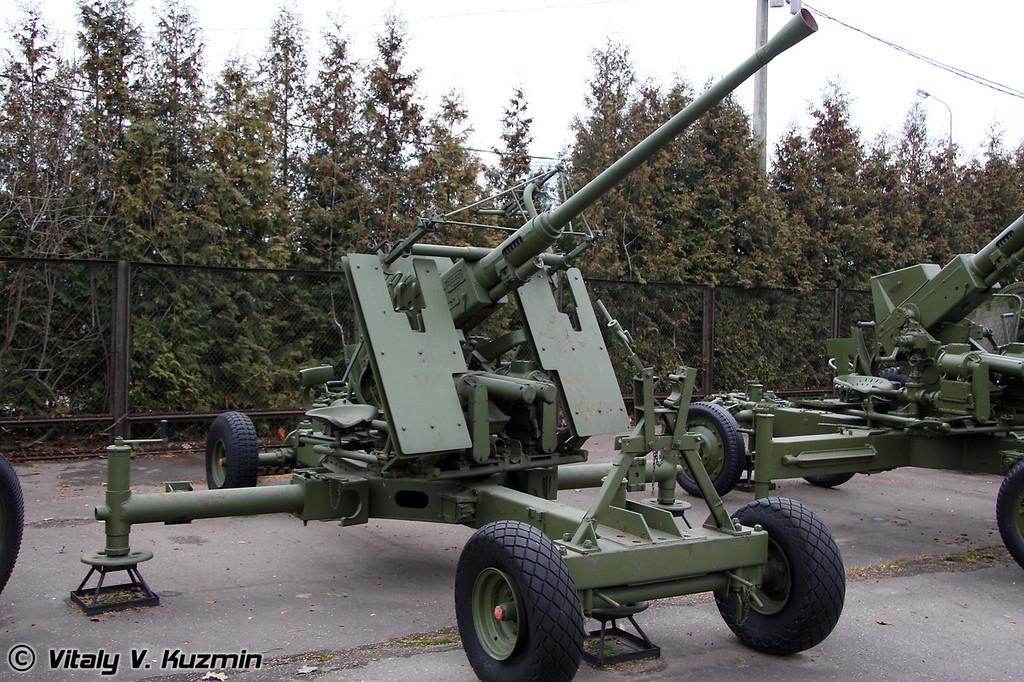 40мм зенитное орудие БОФОРС МК-1 (40mm BOFORS MK-1 AT AA gun)