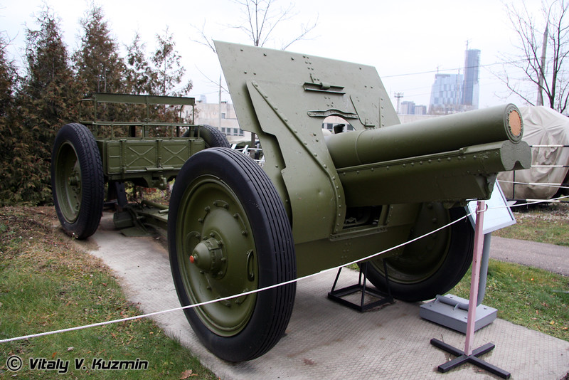 122мм гаубица обр. 1910-1930гг. (122mm field howitzer 1910-1930 model)