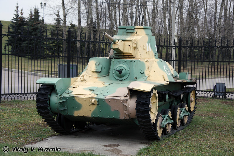 Легкий танк Ха-Го 2595 (HA-GO 2595 light tank)