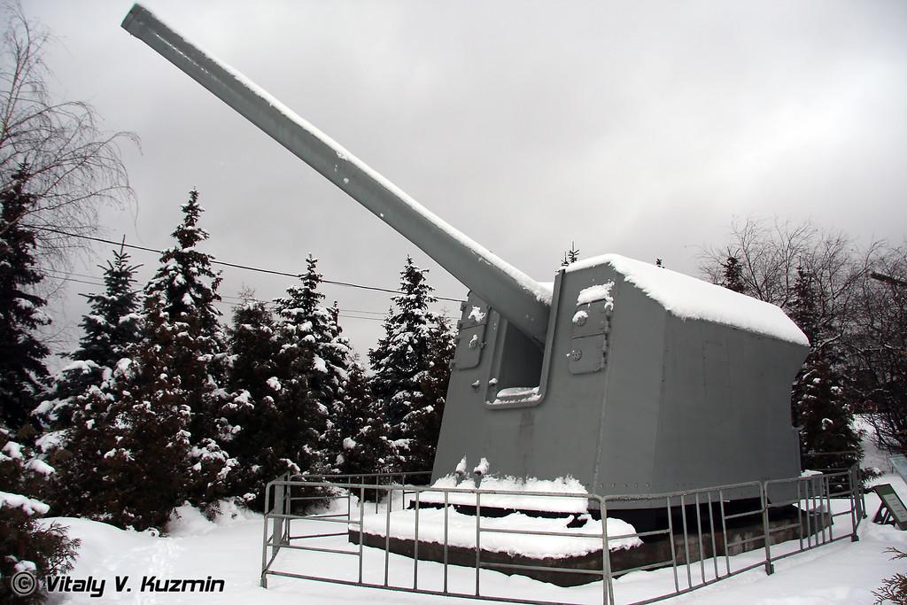 152-мм артиллерийская установка МУ-2 (152-mm MU-2 artillery mount)
