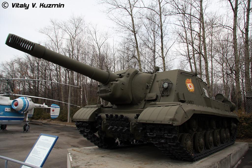 Самоходная артиллеристская установка ИСУ-152 (ISU-152 self-propelled artillery mount)