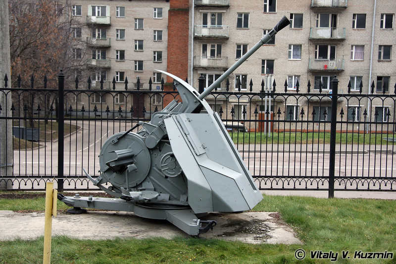 37мм зенитная пушка ФЛАК-43 (37mm FLAK-43 Automatic AA gun)