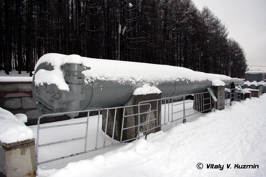 305-мм ствол орудия линкора (305-mm Battleship turret barrel)