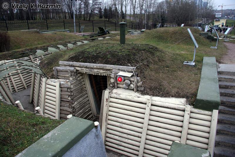 Инженерно-фортификационные сооружения (Trenches)