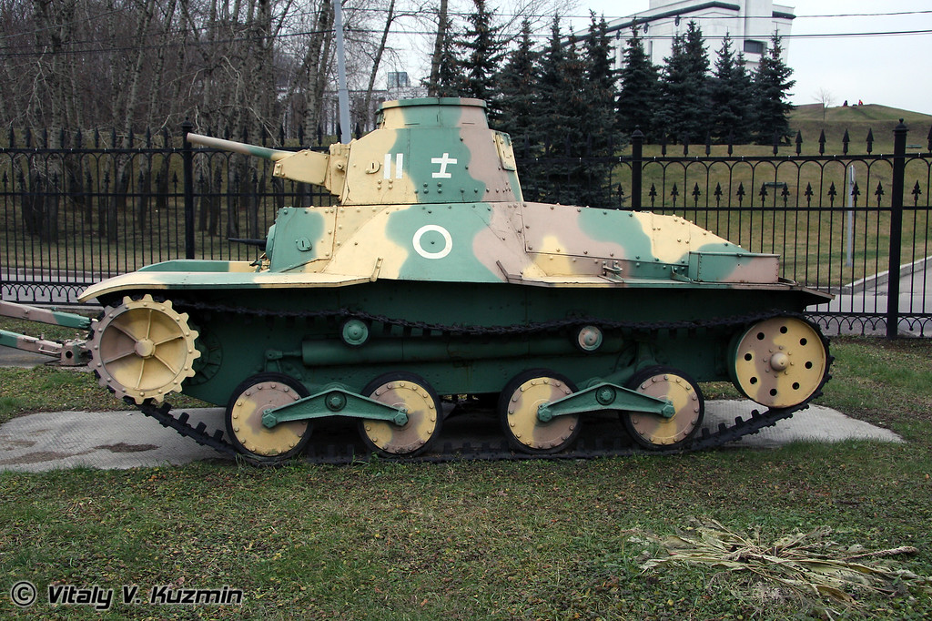 Легкий танк Ха-Го 2595 (HA-GO 2595 light tank)