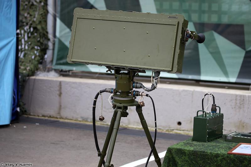 Переносная радиолокационная станция разведки наземных целей 1Л277 Соболятник (1L277 Sobolyatnik radar)