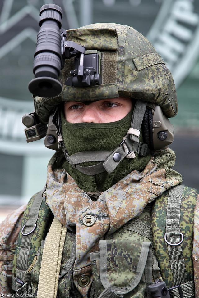 Комплект боевой экипировки Ратник в варианте для разведчика (Ratnik infantry combat system for scouts)