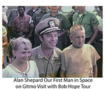Alan Shepard 11 months after walking on the moon during Apollo 14