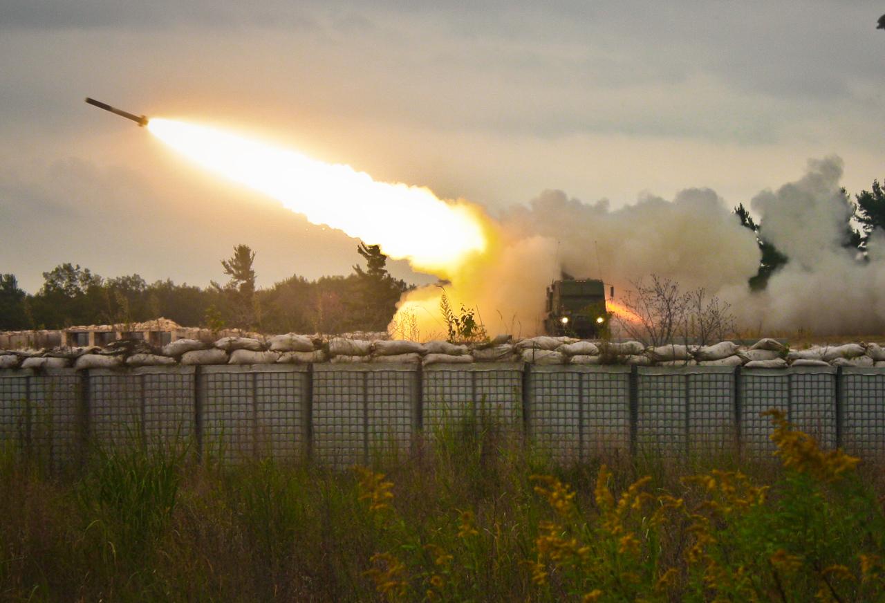 Bravo BTRY 3/197 FA Bn (HIMARS) NHARNG