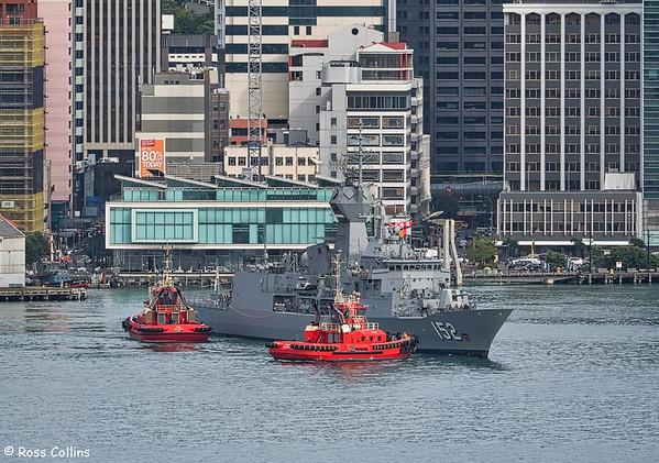 HMAS Warramunga 2016