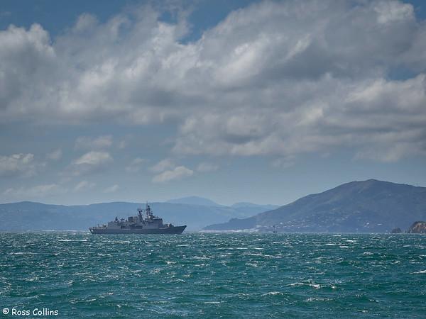 HMNZS Te Kaha visit to Wellington, 13-16 October 2014