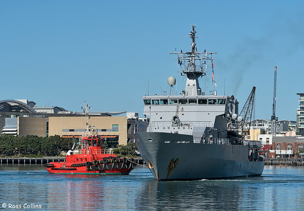 HMNZS Wellington 2016