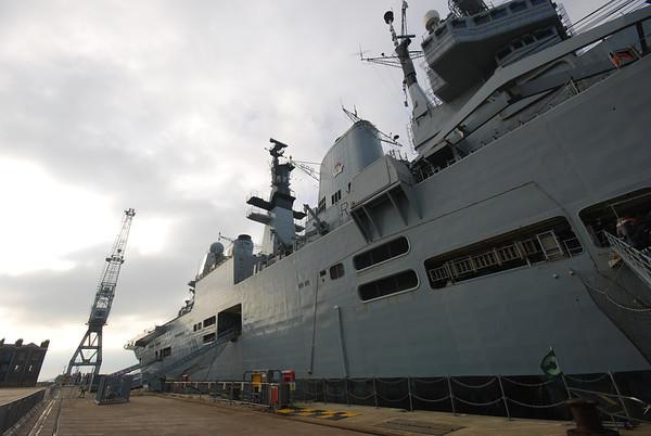 HMS Ark Royal 2011.