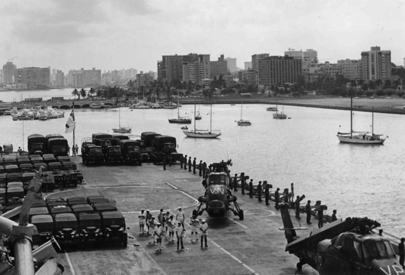 Entering Harbour routine