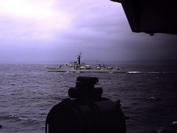HMS Caprice 1972
