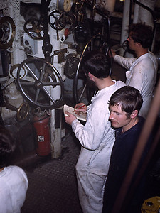 These guys were nuclear submarine engineers getting steam machinery experience