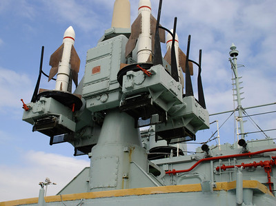Seacat Missile Launcher